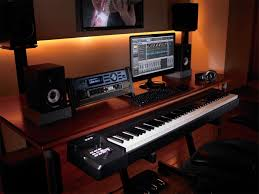 Build A Studio Desk by Home Recording Studio Desk Layout Decorative Desk Decoration