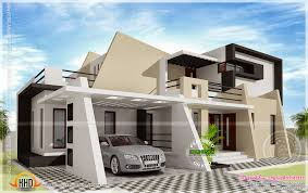 Contemporary Modern House Plans by Modern Bungalow Architecture 2000 Sq Ft Kerala Home Ideasidea