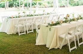 white chair rentals kauai chair rentals events weddings s rentals kauai