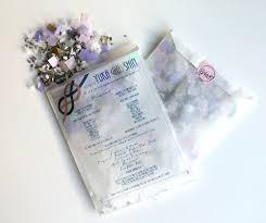 Diy Wedding Programs Diy Confetti Filled Glassine Wedding Programs Clossette