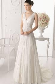 v neck wedding dresses v neck a line wedding dress weddingcafeny