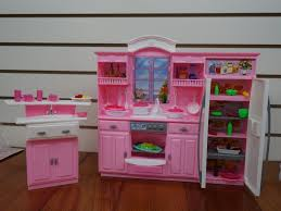 Kitchen Set Amazon Com Barbie Size Dollhouse Furniture My Fancy Life