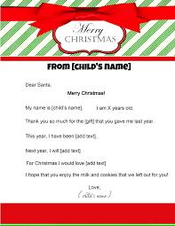 template for santa letter free letter to santa letter to santa template
