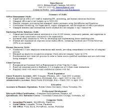 skills exles for resume sle resume skills list resume skills summary exles skills
