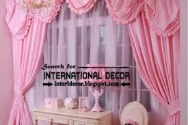 Pink Curtains For Girls Room 50 Girls Window Curtain Designs Window Curtains Window Curtains