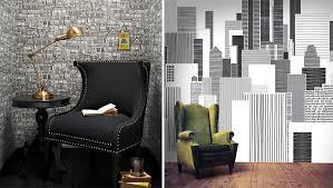 tapisserie pour bureau papier peint pour bureau papier peint papier brique loft blanc