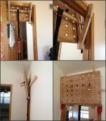 diy door frame peg board jax mercantile co