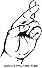 Fingers Crossed Meme - make meme with 2 fingers crossed clipart