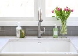 white kitchen sink dressing up the kitchen sink i heart nap time