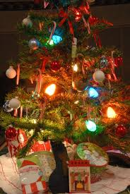 simple ideas old fashioned christmas lights kitchen tree tiny with