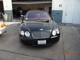 satin black bentley luxury car auto body repair shop and paint shop van nuys auto