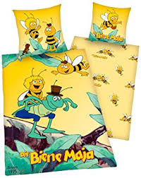 herding 440659050 biene maja maya bee bed sheets 80 80