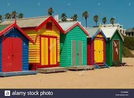brighton beach huts melbourne victoria stock photo royalty free