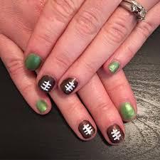 18 best nail art designs for super bowl 2016