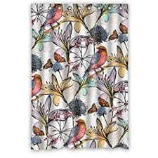 Shower Curtains With Birds Bird Shower Curtain Collect Yours
