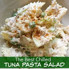 Best Pasta Salad Recipe by The Best Chilled Tuna Pasta Salad