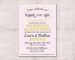 post wedding reception invitations post wedding reception invitation wording informal new post