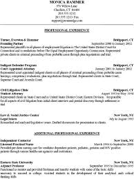 Career Change Resume Examples by Sample Resume Attorney Career Change