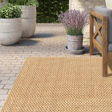Outdoor Grass Rugs Lark Manor Orris Sand Indoor Outdoor Area Rug Reviews Wayfair
