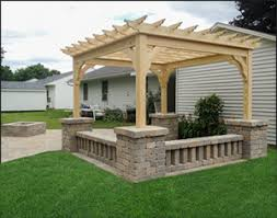 customer treated pine pergola photo gallery