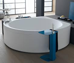 bathroom charming big white bathroom tub in round shape matched