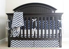Grey Chevron Crib Bedding Set Navy Chevron Crib Bedding Modern Bedding U0026 Bed Linen