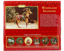 breyer woodland splendor 700119 2016 holiday horse