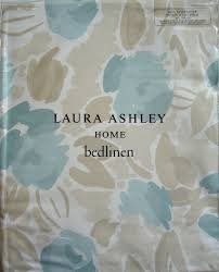 laura ashley emma king size duvet cover set duck egg new rrp
