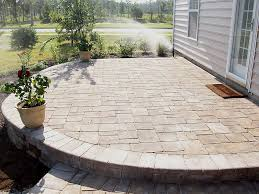 Cost Of Paver Patio Home Nice Pavers Patios For Home Interior Design Concept With Pavers