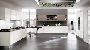 Black And White Kitchen Design Contemporary Kitchen by Kitchen Exciting White Kitchen Design Ideas Using Cream Melamine