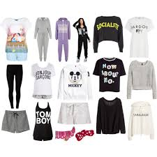 Sweater Pajamas Mix Inspired Comfy Clothes Pajamas Polyvore