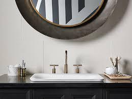 kohler carillon wading pool sink 3rings sartorial paisley rectangle wading pool sink by kohler