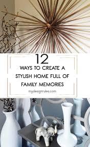 make memories home decor my design rules