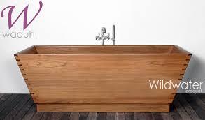 Wood Bathtubs Amazing Teak Bathroom Vessel Sinks And Wooden Bathtubs