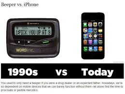 Pager Meme - was cool in the 90s vs cool today 10 pics