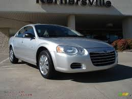 2004 chrysler sebring touring platinum series sedan in bright