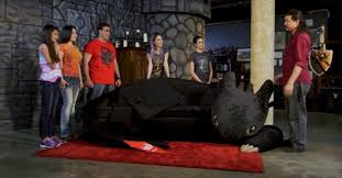 video build u0027how train dragon u0027 toothless couch