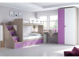 bureau superposé lit superposé avec bureau personnalisable f264 glicerio lits