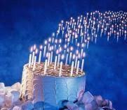 candele scintillanti candeline assortite