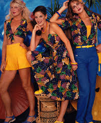 hang ten seventeen magazine april 1980s vintage fashion style