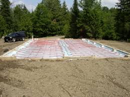the slab on grade installation diy radiant floor heating