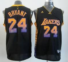 los angeles lakers 24 kobe bryant 2012 vibe black fashion jersey