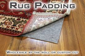 rug pads rug padding custom cut by the roll wholesale