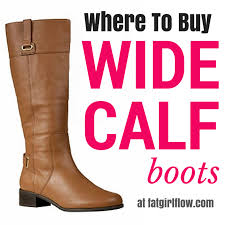 womens boots for large calves where to buy wide calf boots for plus size flow