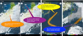 Satellite Weather Map Eweather Hd Weather App For Iphone And Ipad User U0027s Manual