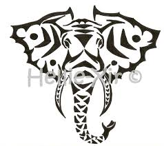 37 best elephant tribal tattoo stencils images on pinterest car