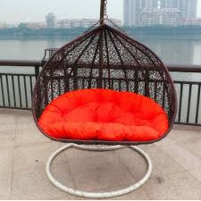Metal Egg Chair by Garden Swing Rattan Hanging Egg Chair For Two Person Buy Swing