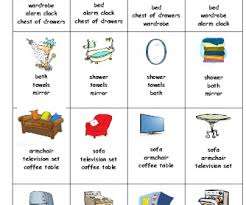 kitchen furniture names 271 free house flat rooms worksheets