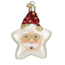 starry night santa old world christmas ornament santa christmas