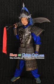 Chinese Halloween Costume Chinese Ancient General Body Armor Costumes Helmet